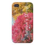 La gloria del otoño iPhone 4 protectores