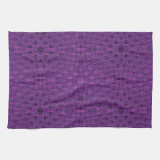 La gloria púrpura Snakeskin inspiró el modelo Toalla De Cocina