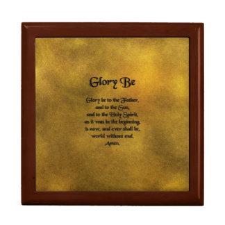La gloria sea caja de regalo