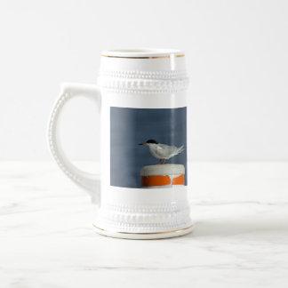 La golondrina de mar de Forster Jarra De Cerveza