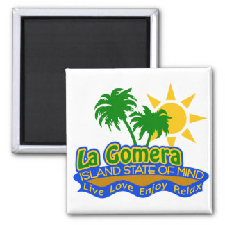 La Gomera State of Mind magnet
