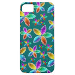 La gota colorida florece la caja iPhone5 iPhone 5 Funda