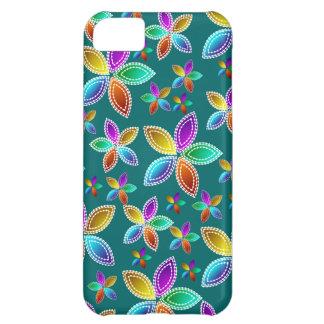 La gota colorida florece la caja iPhone5