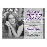 La graduación 2012 de la foto invita invitación 12,7 x 17,8 cm