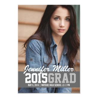 La graduación año invita/de la invitación el | del