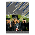 La graduación azul de las rayas de la diagonal le tarjeta pequeña