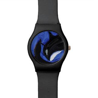 La graduación de la orca reloj de mano