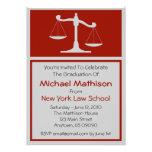 La graduación del colegio de abogados invita a las anuncios