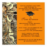 La graduación elegante clásica linda 2015 de Camo Invitación 13,3 Cm X 13,3cm