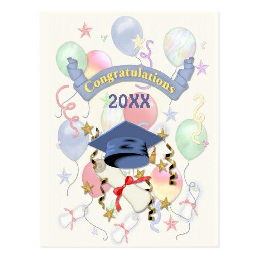 La graduación hincha 2015 postal