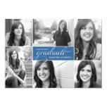 La graduación moderna de la escritura de 6 fotos comunicado personalizado