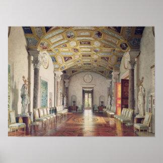 La gran ágata Pasillo en el palacio de Catherine Posters
