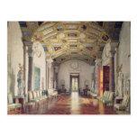 La gran ágata Pasillo en el palacio de Catherine Postal