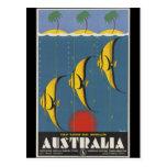 La gran barrera de coral Australia Tarjetas Postales