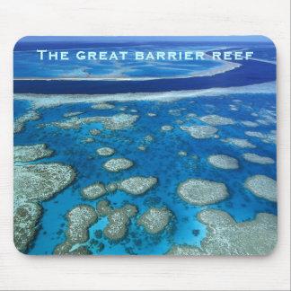 La gran barrera de coral Mousepad