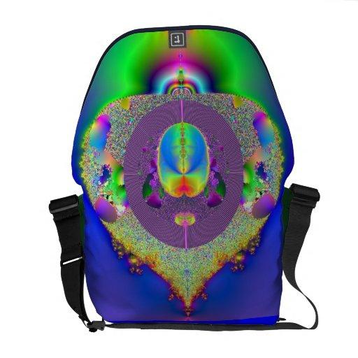 La gran bolsa de mensajero del carrito del fractal bolsa messenger