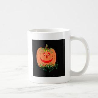 La gran calabaza tazas de café