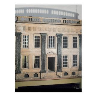 La gran casa de muñeca inglesa de House Postales