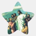 La gran Comisión Calcomanías Forma De Estrella Personalizadas