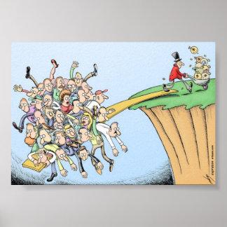 La gran conspiración de la recesión póster