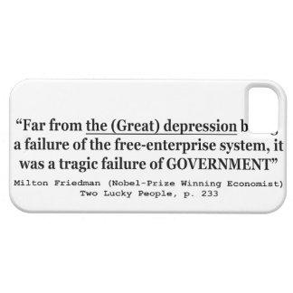 La Gran Depresión era un fracaso del gobierno iPhone 5 Carcasas