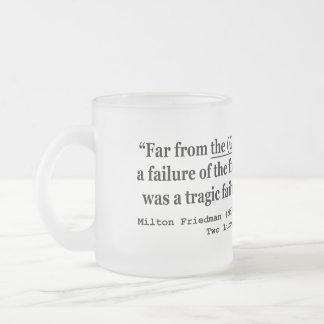 La Gran Depresión era un fracaso del gobierno Taza De Café