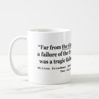 La Gran Depresión era un fracaso del gobierno Tazas De Café