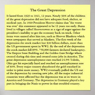 La Gran Depresión Poster