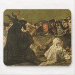 La gran Él-cabra de las brujas el Sabat o Alfombrilla De Ratones