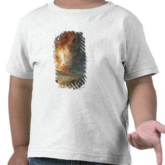 La gran erupción del monte Vesubio Camisetas