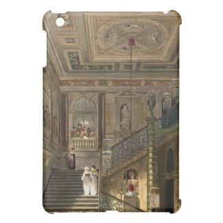 La gran escalera en el palacio de Kensington de Py