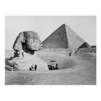 La gran esfinge, 1877 tarjetas postales