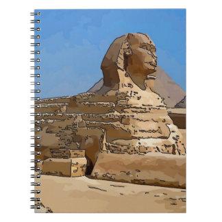 La gran esfinge de Giza Libretas Espirales