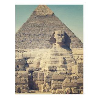 La gran esfinge de Giza Tarjetas Postales