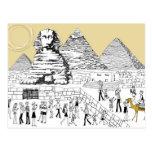 La gran esfinge tarjeta postal