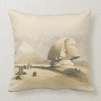 """La gran esfinge y las pirámides de Giza, de """"E Cojín"""