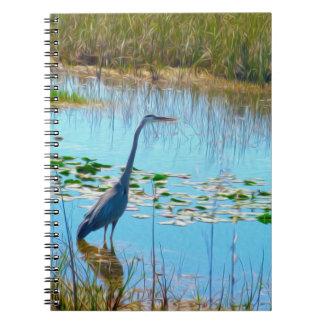 La gran garza - cuaderno