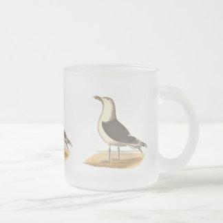 La gran gaviota de espalda negra(Larus Marinus) Tazas De Café