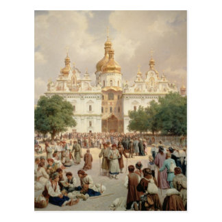La gran iglesia postales