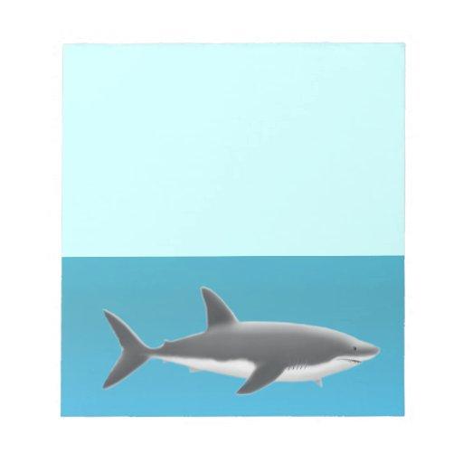La gran libreta del tiburón blanco blocs