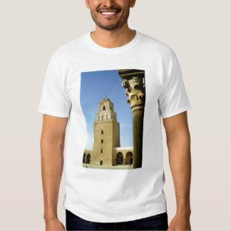 La gran mezquita, Aghlabid, ANUNCIO 836-875 Remeras