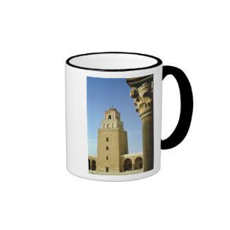 La gran mezquita, Aghlabid, ANUNCIO 836-875 Taza De Dos Colores