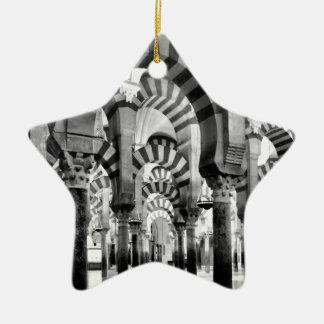 La gran mezquita de Córdoba Ornamento Para Arbol De Navidad