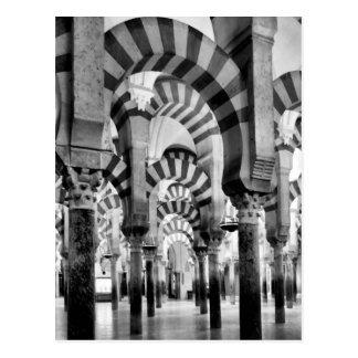 La gran mezquita de Córdoba Tarjetas Postales
