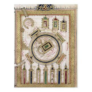 La gran mezquita de La Meca Tarjetas Postales