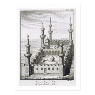 La gran mezquita en Medina, de 'en Arabi de los Postales