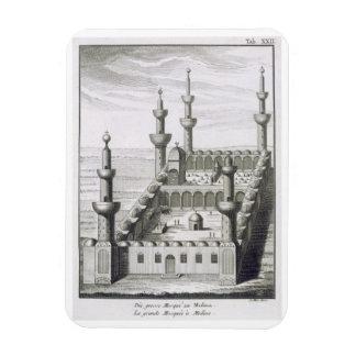 La gran mezquita en Medina, de 'en Arabi de los vi Iman Rectangular