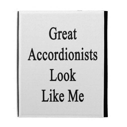 La gran mirada de los acordeonistas tiene gusto de