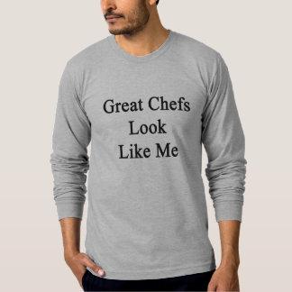 La gran mirada de los cocineros tiene gusto de mí playera