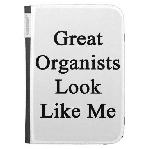La gran mirada de los organistas tiene gusto de mí